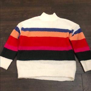 Cozy multi color sweater